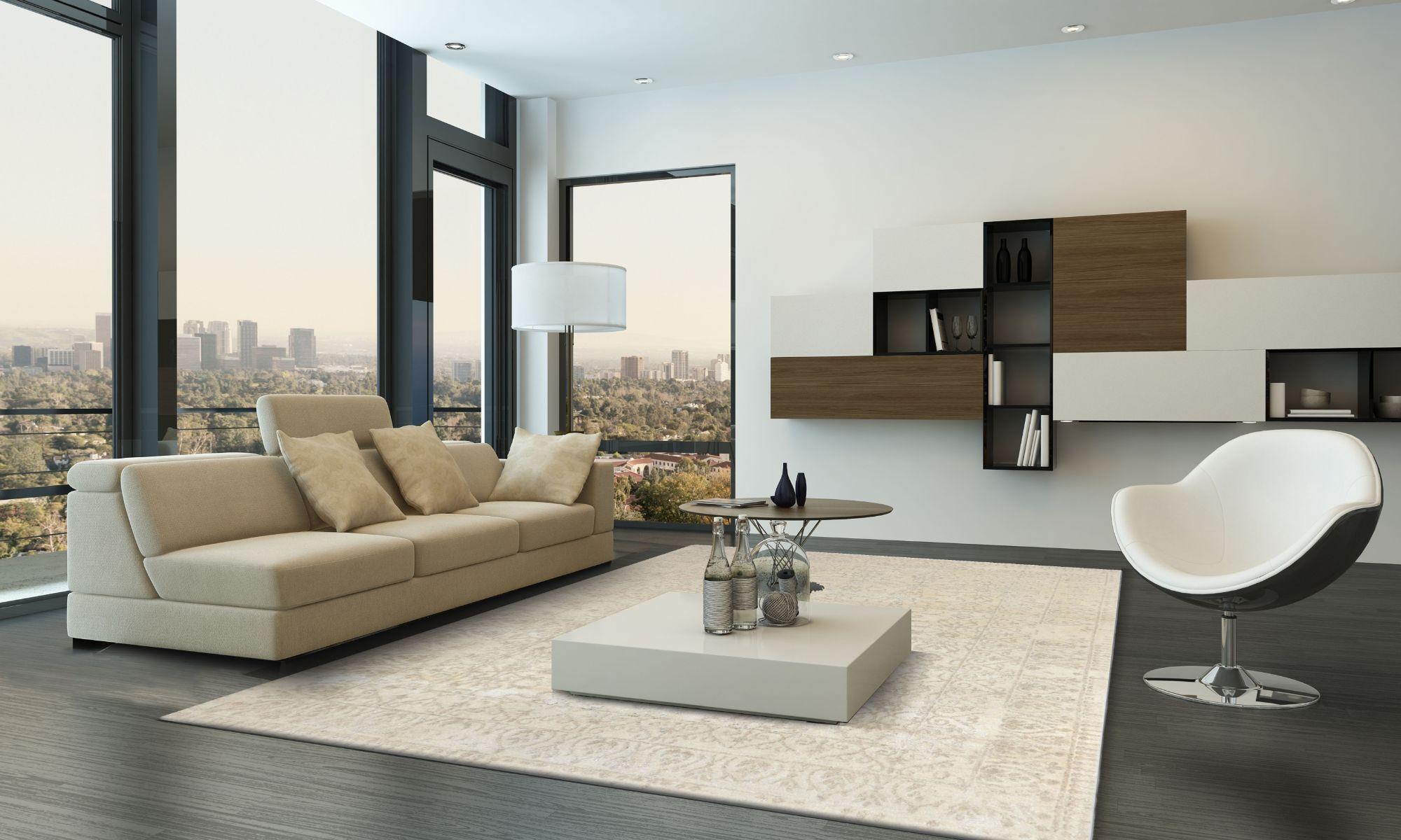 Modern Loribaf LE111 Beige Interior